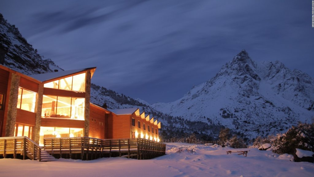 Ski Lodge During Spring and Summer